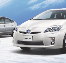 Second and third generation Prius