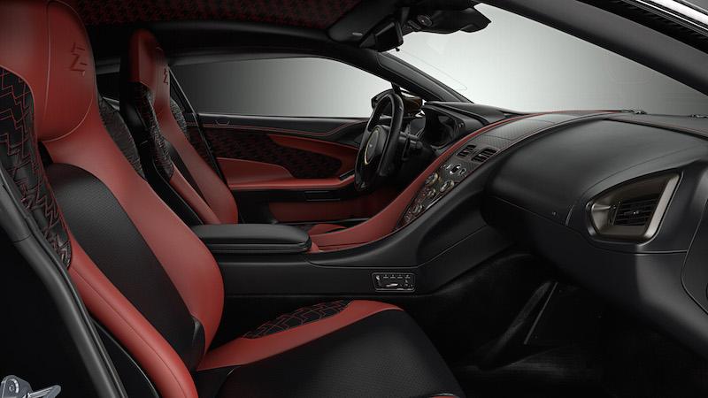 Aston Martin Vanquish Zagato Concept interiors