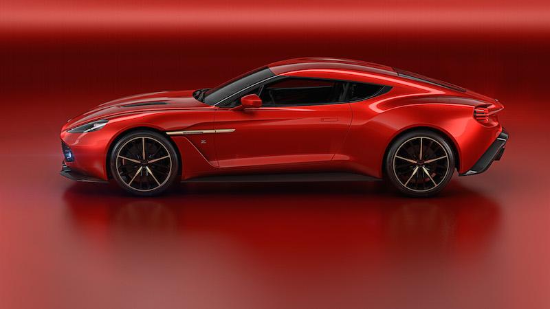 Aston Martin Vanquish Zagato Concept profile
