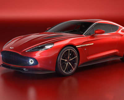 Aston Martin Vanquish Zagato Concept side