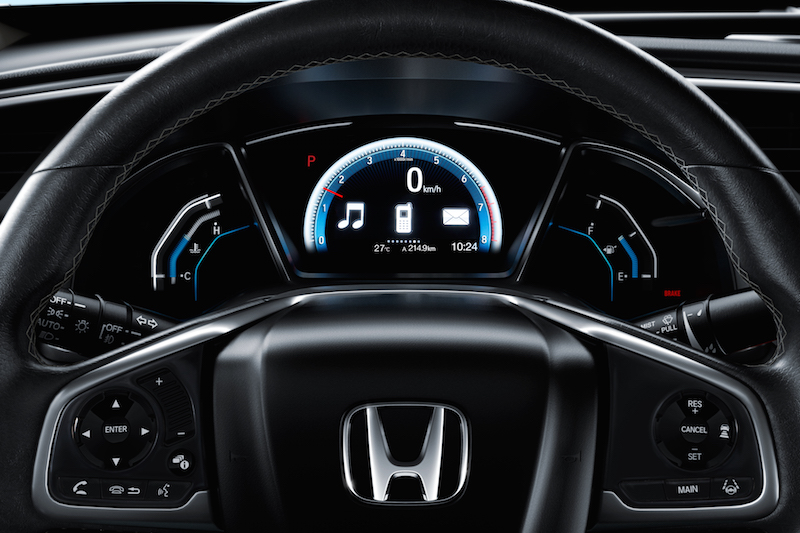 Honda Civic 2016 steering