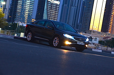 Geely Emgrand GT night