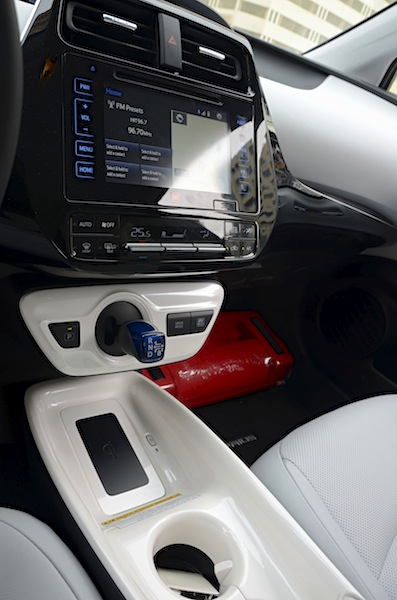 Toyota Prius console tunnel