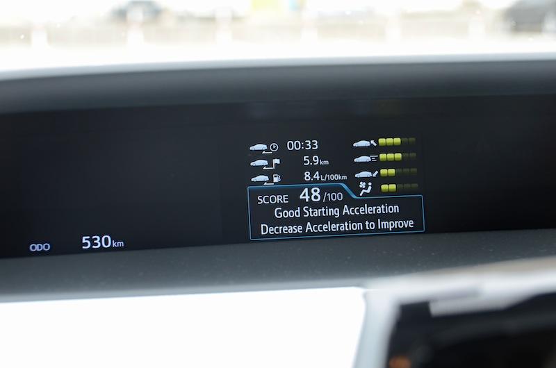 Toyota Prius dash panel