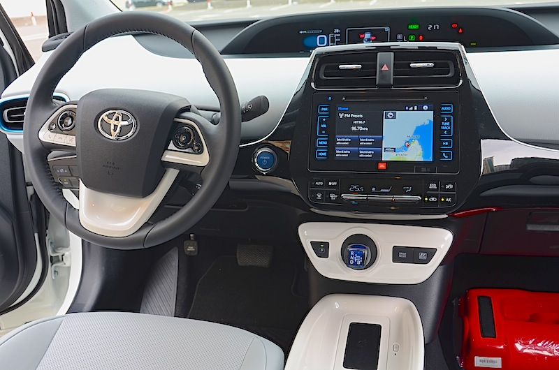 Toyota Prius front cabin