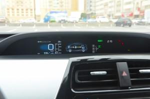 Toyota Prius instrument cluster