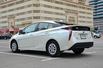 Prius hybrid UAE