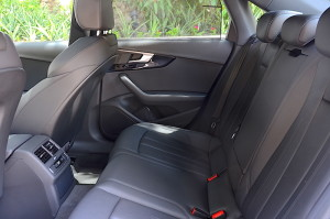 Audi A4 2016 backseat