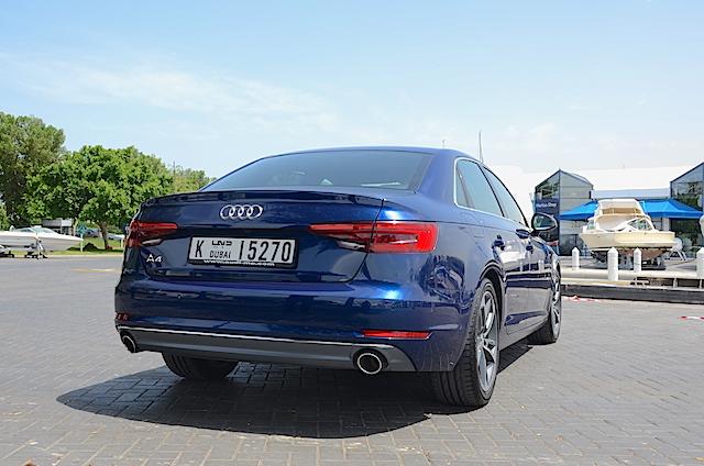 Audi A4 2016 rear