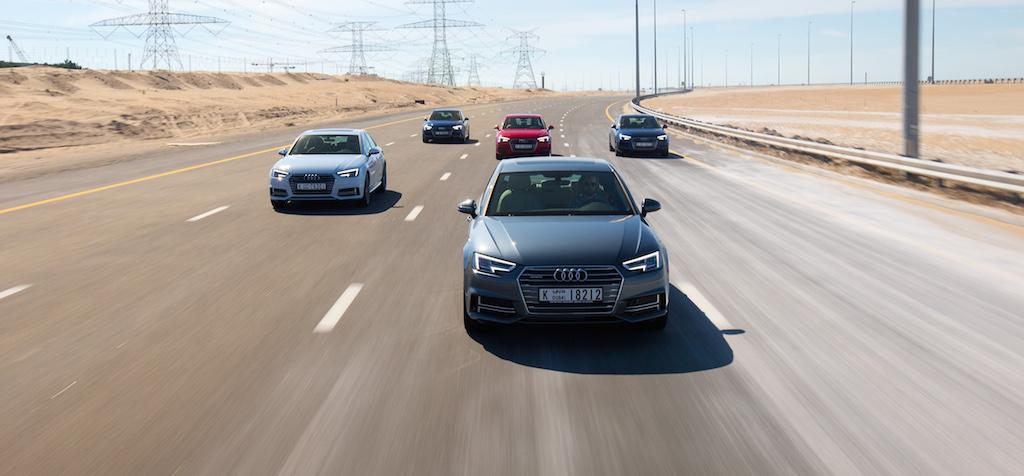 Audi A4 range