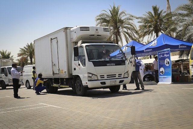 MICHELIN Tyres Safety Campaign DUBAI post
