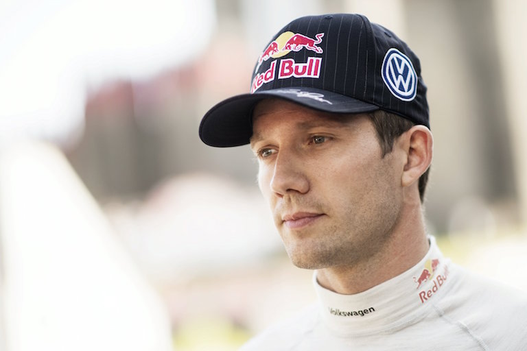 Sebastien Ogier (FRA) poses for a portrait during FIA World Rally Championship 2016 Portugal in Porto, Portugal on May 19, 2016 // Jaanus Ree/Red Bull Content Pool // P-20160520-00075 // Usage for editorial use only // Please go to www.redbullcontentpool.com for further information. //