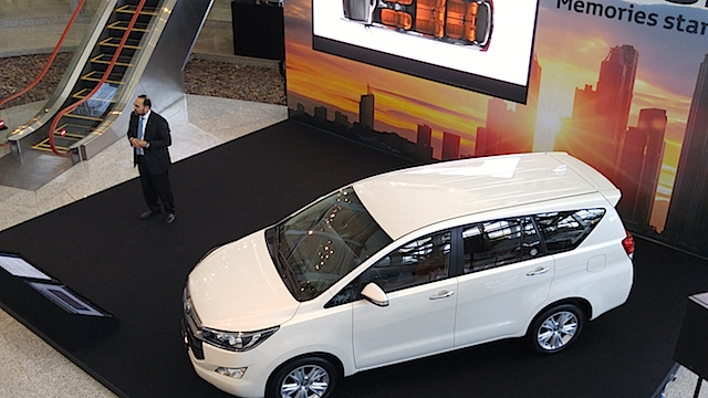 Toyota Innova launch