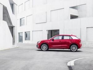 Audi Q2 - side view