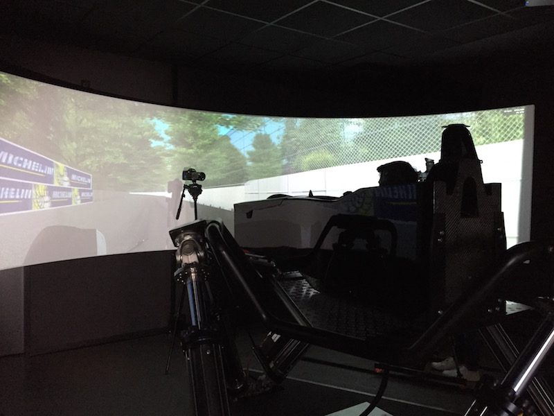 The racers have to depend a lot on advanced simulators as the City based track doesn't allow much real-world practice!