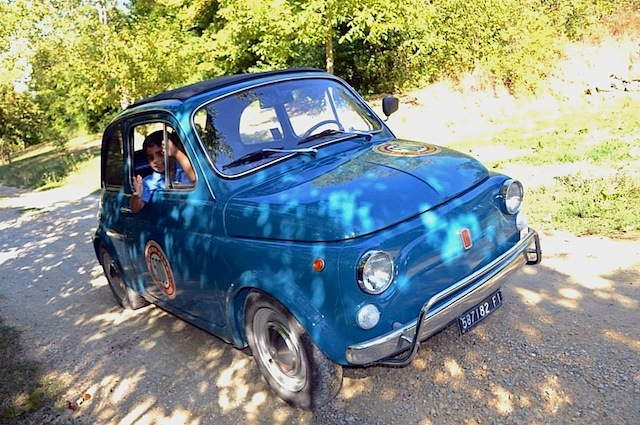 Driving a 1971 Fiat 500 in Tuscany was the highlight of my Italian holiday.