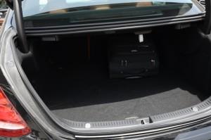 Mercedes E Class 2017 boot