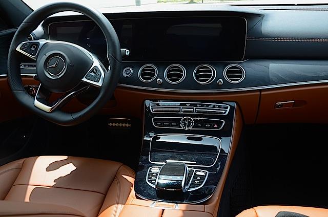 Mercedes E Class 2017 cabin