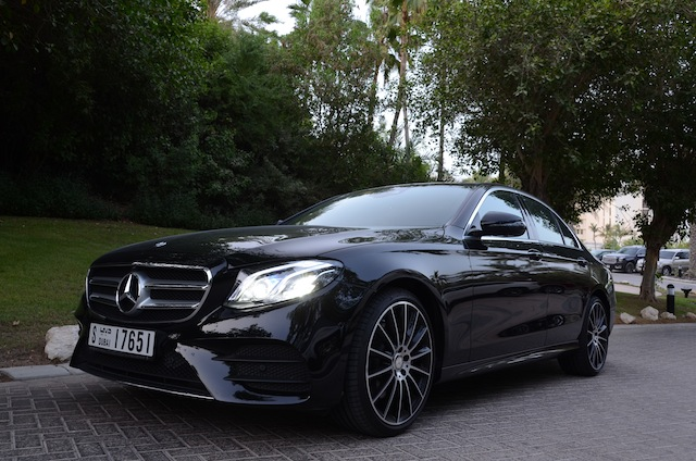 Mercedes E Class 2017 close