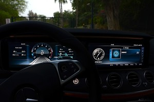 Mercedes E Class 2017 screen