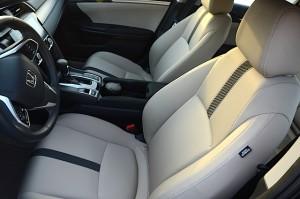 Honda Civic 2016 EX seats