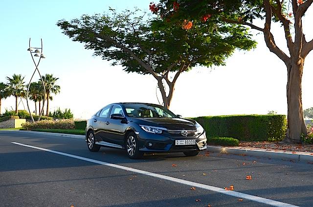 Honda Civic 2016 drive