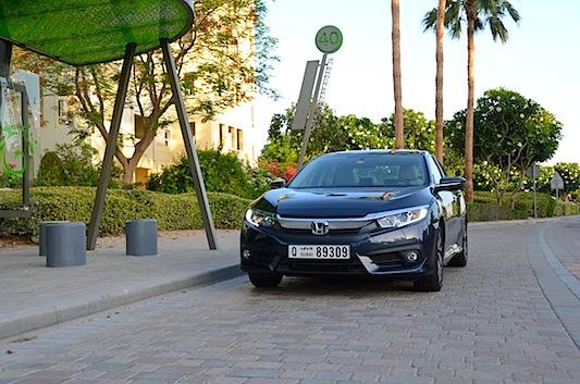 Honda Civic 2016 front