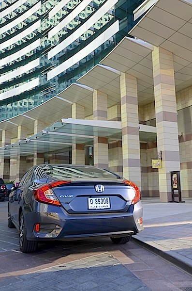 Honda Civic 2016 rear