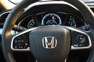 Honda Civic 2016 steering