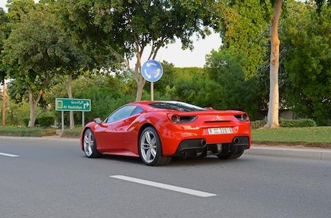 ferrari-488-gtb-on-road