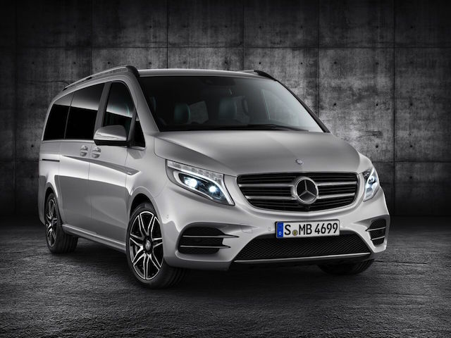 V-Class has an AMG version - just the make up kit of course!