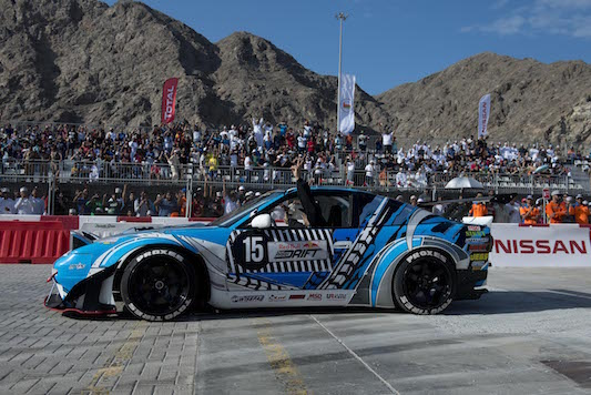 3rd Place - Nissan Drifts to Podium Dominance in Storming Red Bull Season Finale