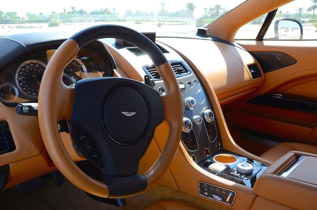 Aston Martin Rapide S 2017 cabin