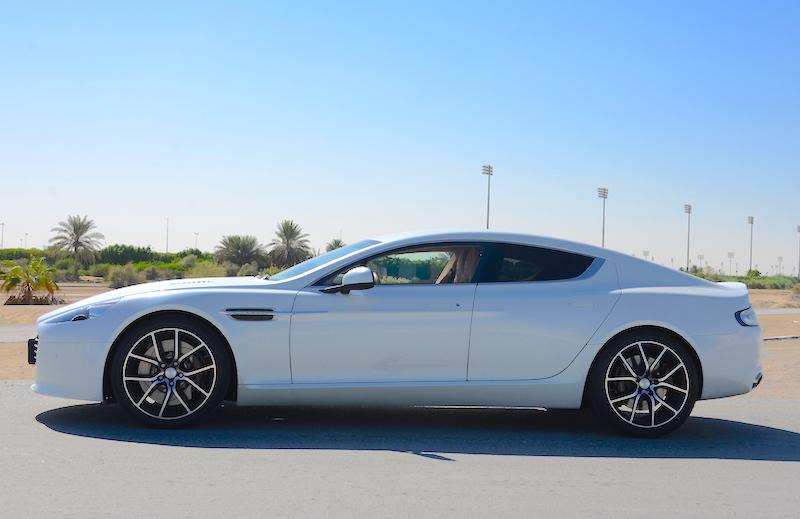 Aston Martin Rapide S 2017 profile