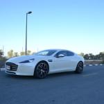 Aston Martin Rapide S 2017 road