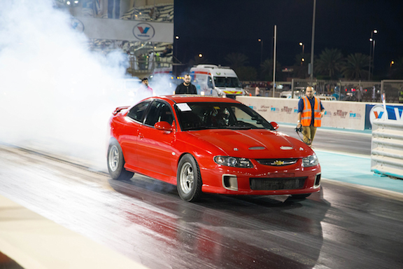Drag race car