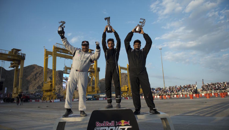 The Three Winners of Red Bull CPD 2016