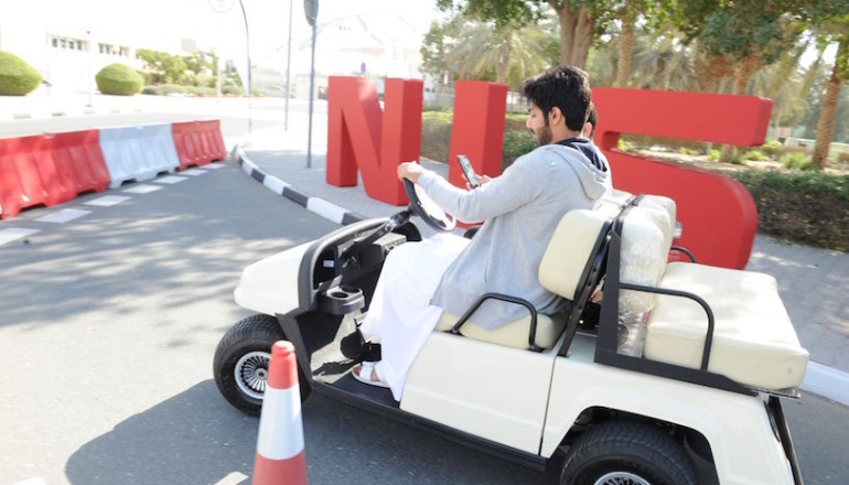 Aqdar Drive Safely program roadshow kicks off across the UAE to drive student participation and pledges (1)