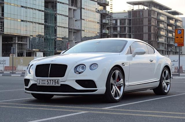 Bentley Continental 2016 V8S drive