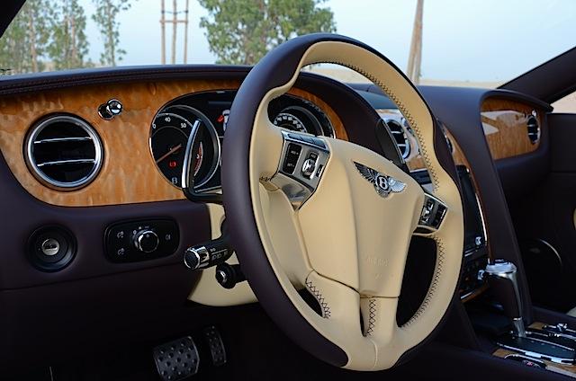 Bentley Continental GT 2016 V8 cabin
