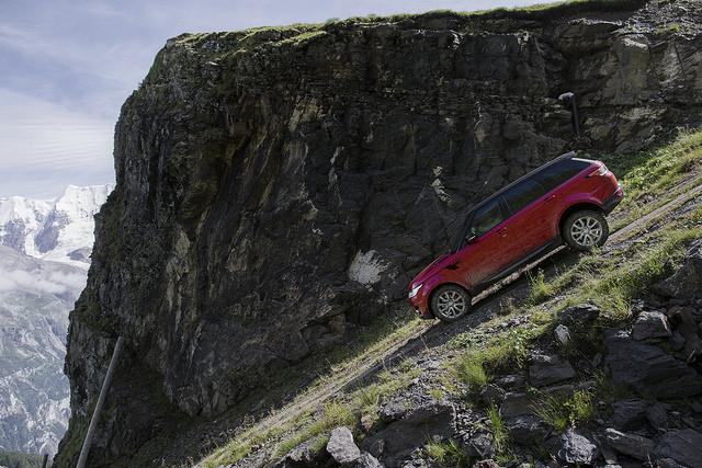 Range Rover Sport Murren hill
