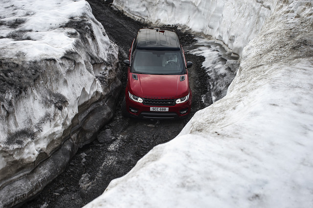 Range Rover Sport Murren ice