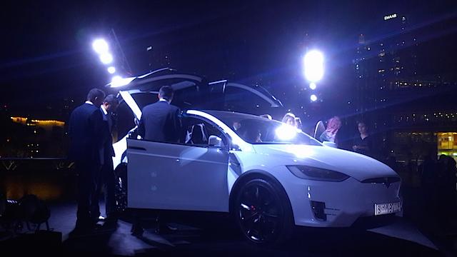 Tesla Model S launch