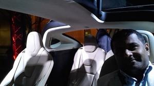 Tesla Model X inside