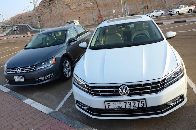 Volkswagen Passat 2016 compare