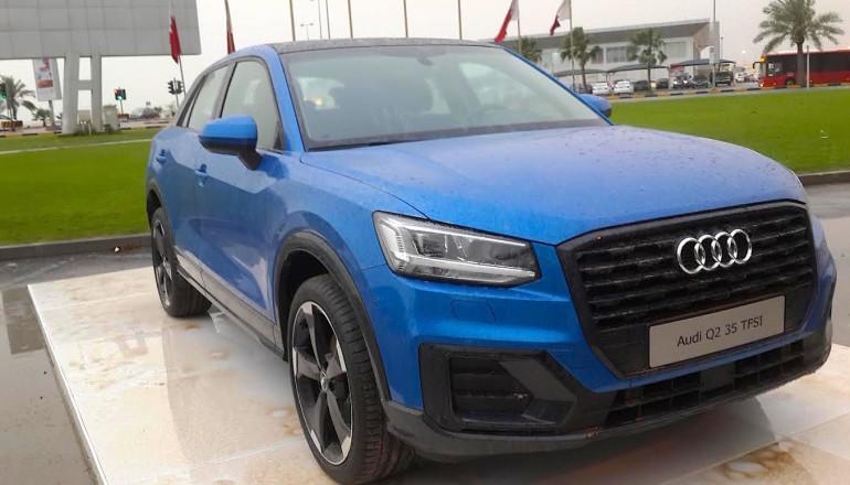 Audi Q2 Blue