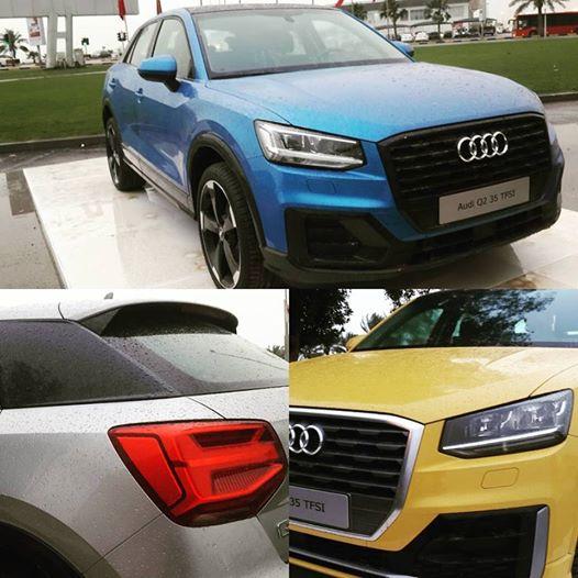 Audi Q2 collage