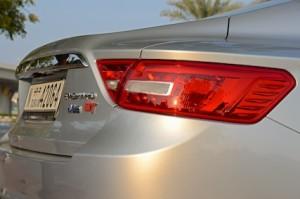 Geely Emgrand GT V6 badge