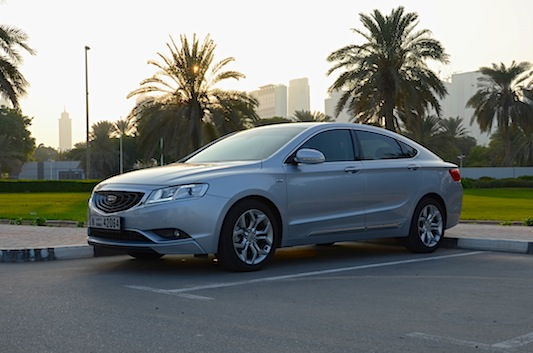 Geely Emgrand GT V6 review