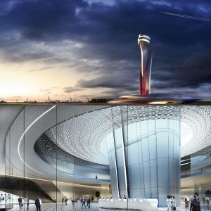 Istanbul ATC Tower and interiors